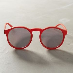 ANTHROPOLOGIE Le Specs Cubanos Mirrored Sunglasses